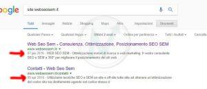 Quando è stata indicizzata una pagina su Google?