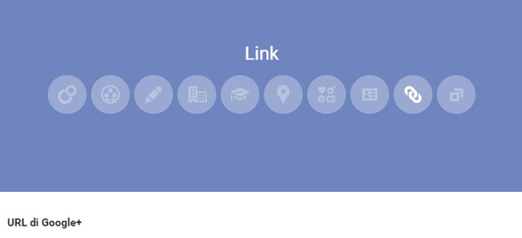 Url Google Plus personalizzato