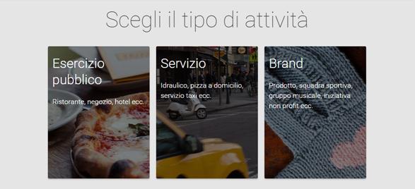 Google +1 per aziende