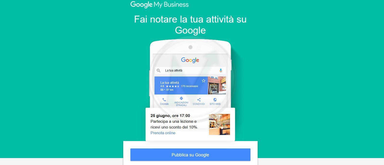 Fai notare la tua attività su Google con i POST sulla scheda di Google Business