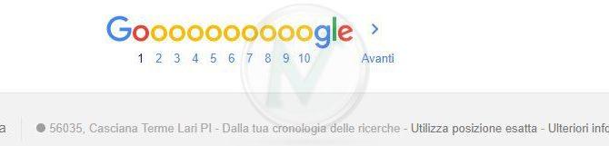 Google nuove impostazioni sulla geolocalizzazione delle ricerche